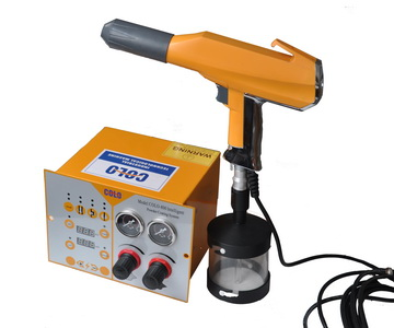 portable powder coating equipment