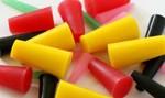 silicone plugs for powder coating masking