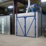powder coating cure oven