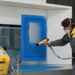 powder coating spray system