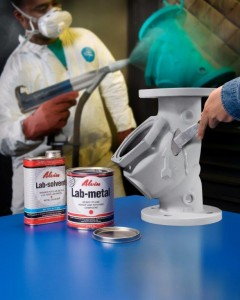 powder coating repair filler
