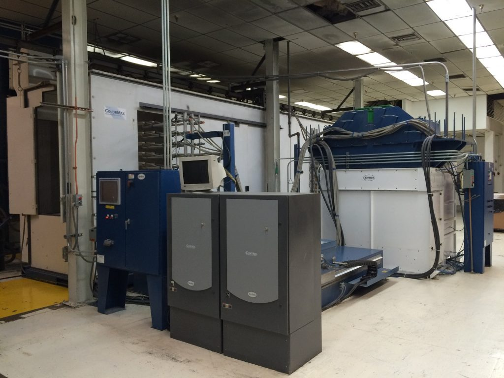 Used Nordson Colormax Powder Coating System