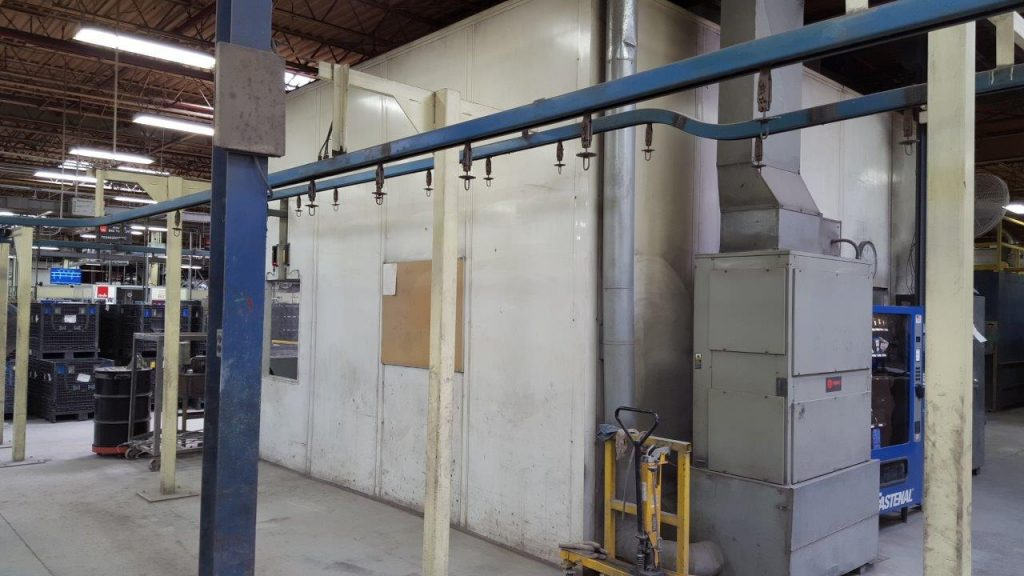 5 stage powder coating system