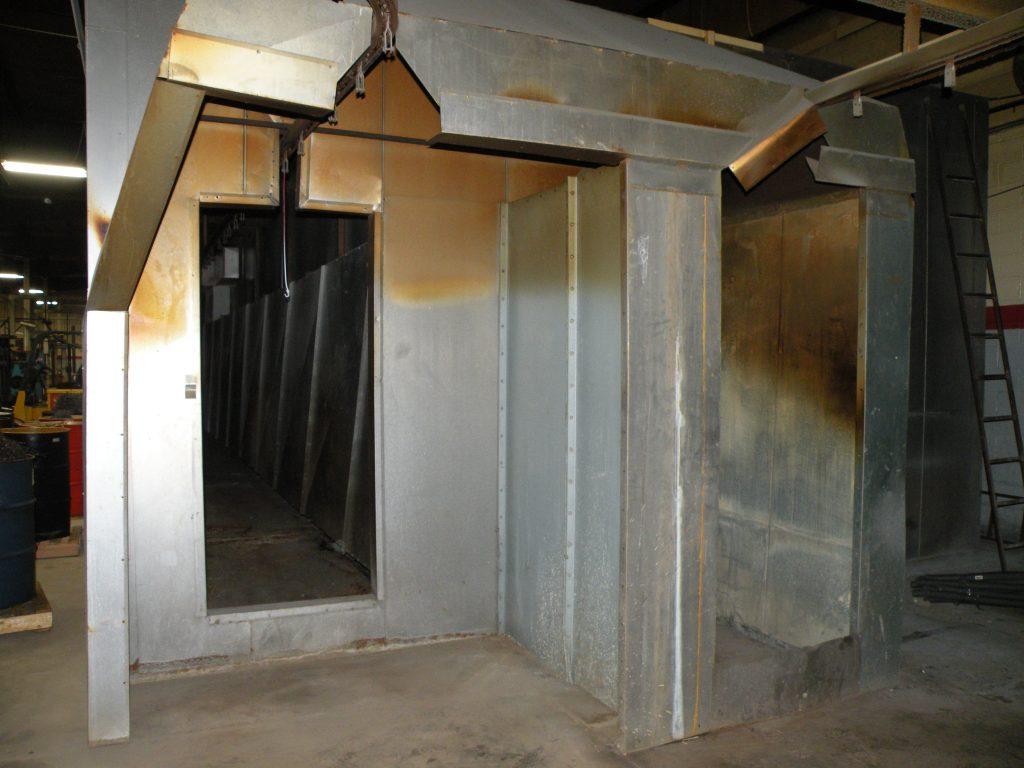 used powder coating oven