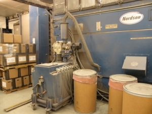 used nordson booth