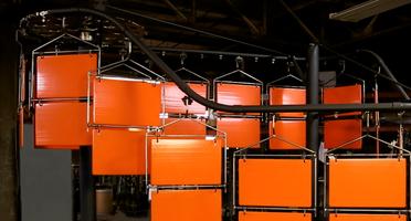 angle pivot conveyor system