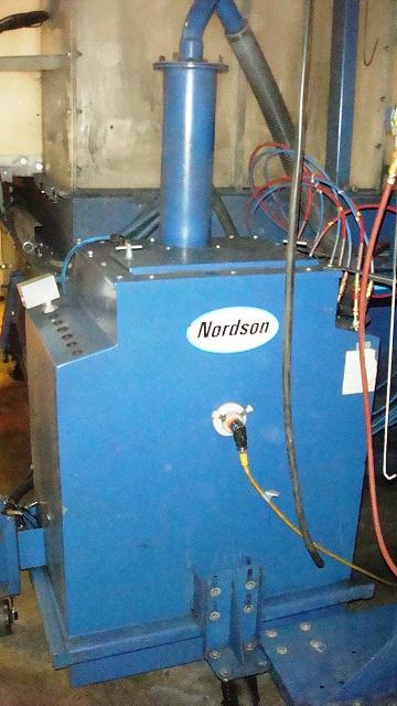 used nordson powder coating system