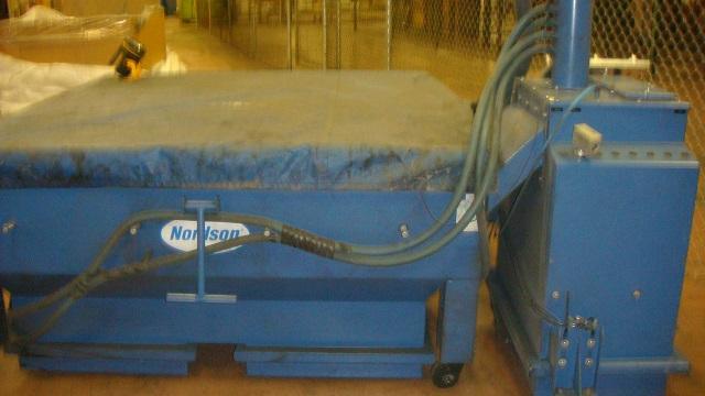 nordson horizon 400 powder coating system