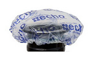 Echo shower cap for powder coating