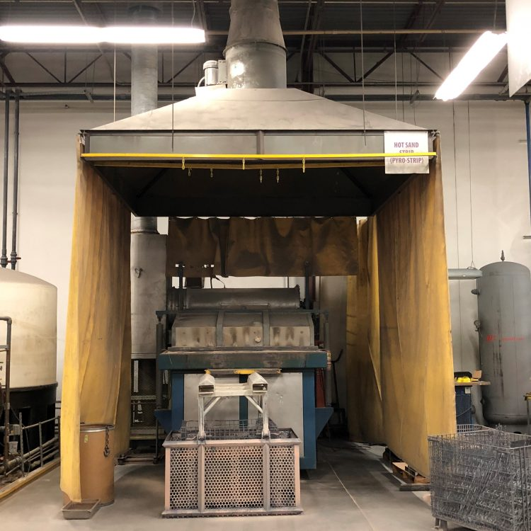 used sand stripper