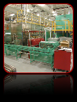 powder coating conveyor systems