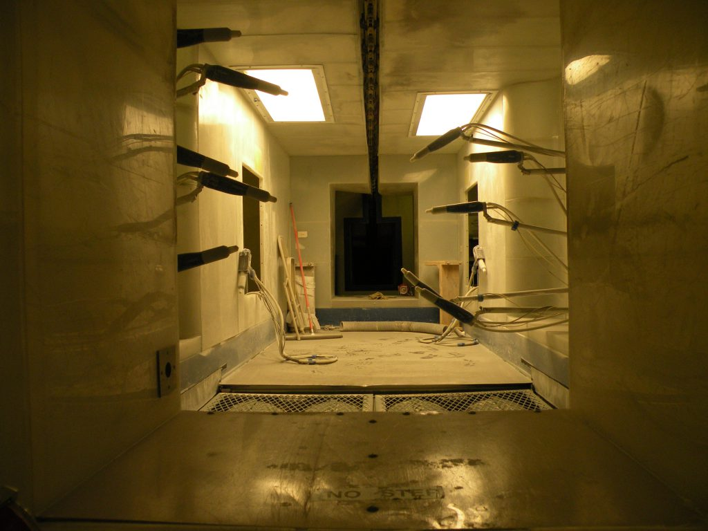 used powder coating system