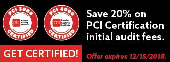 powder coating certification