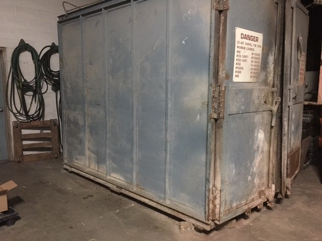used burnoff oven for sale