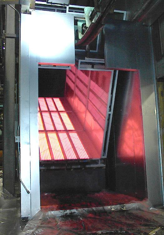 Infrared Ovens For Powder Coating Ir Ovens