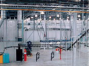 powder coating automated material handling systems