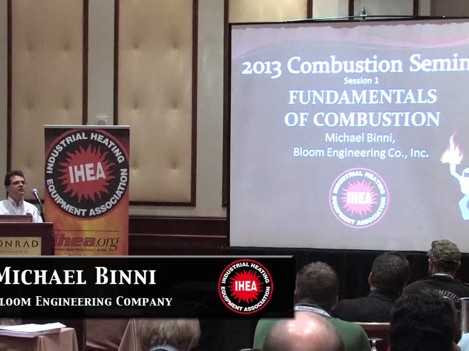 IHEA combustion videos