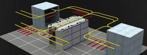 powder coating conveyor system