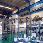 automated powder coating system