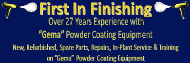 used powder coating equipment