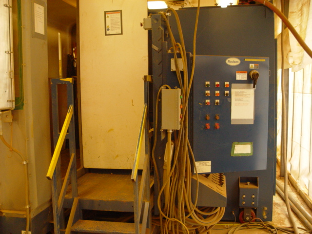 used powder coating booth
