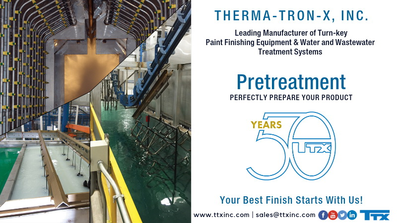 pretreatment systems for powder coating