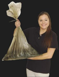 powder disposal bags