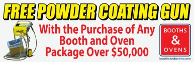 powder coating equipment sale