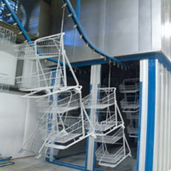 ttx automated conveyor systems powder coating