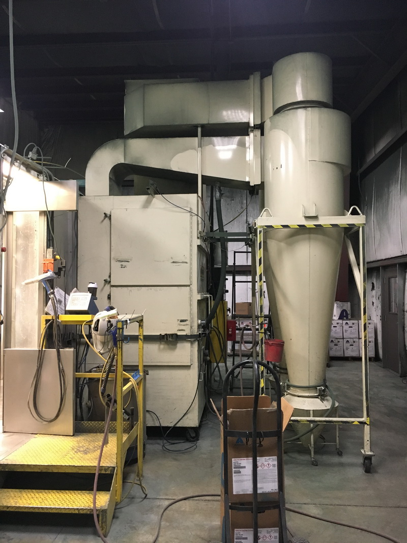 used wagner cymod powder booth system