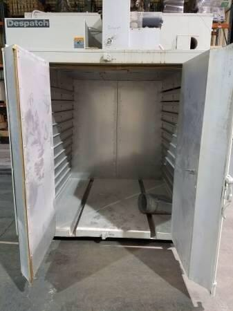 used powder coating cure oven