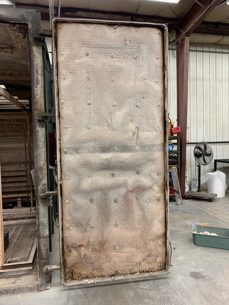 used burn off oven