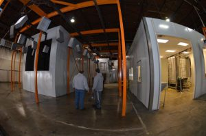 complete used powder coating system