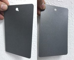 powder coating matching