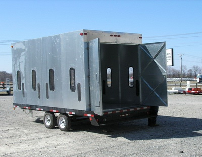 used sandblast containment unit