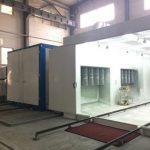 batch powder coating equipment