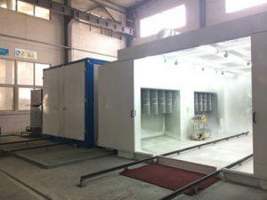valu-line batch powder coating equipment