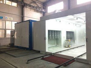 valu-line batch powder coating equipment