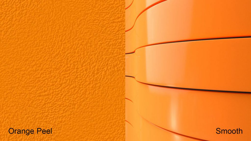 orange peel powder coating