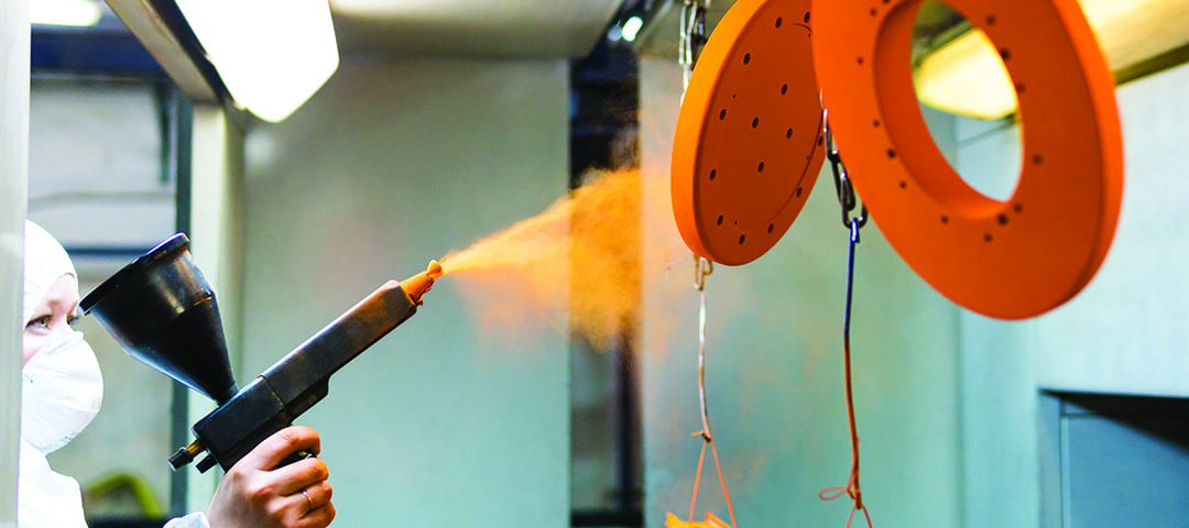 start powder coating