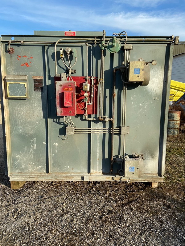 used burn-off oven
