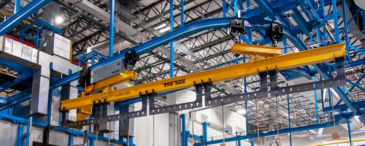 continuous conveyor carrier system